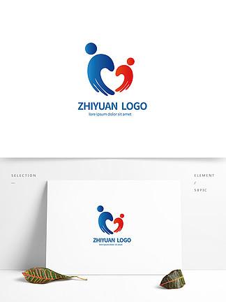 志愿服务标志logo设计
