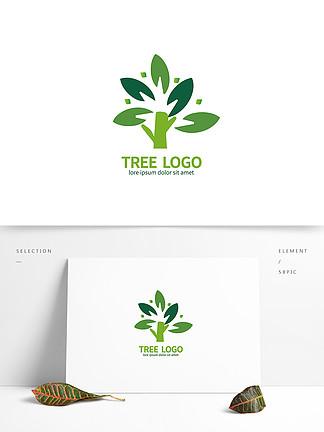 植物绿化环境logo
