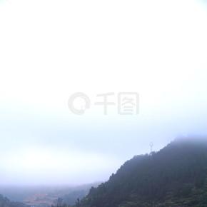 贵州游记——千户苗寨晨间村寨(竖)