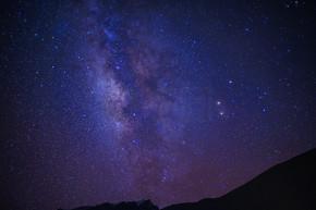 西藏珠穆朗玛峰银河星空