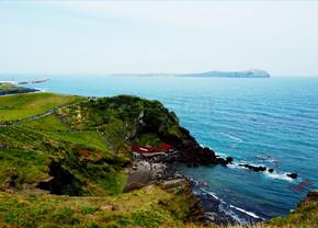 山水全景江河湖海摄影图