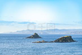 海上风光小岛屿风景