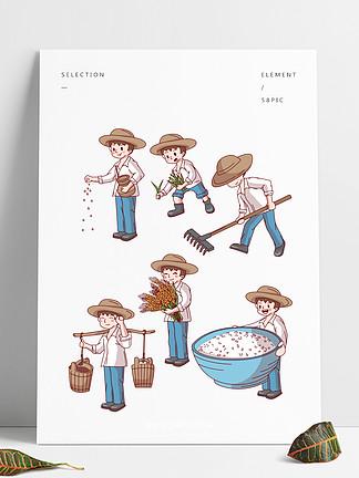 从一粒种子到一颗米饭节约粮食光盘行动