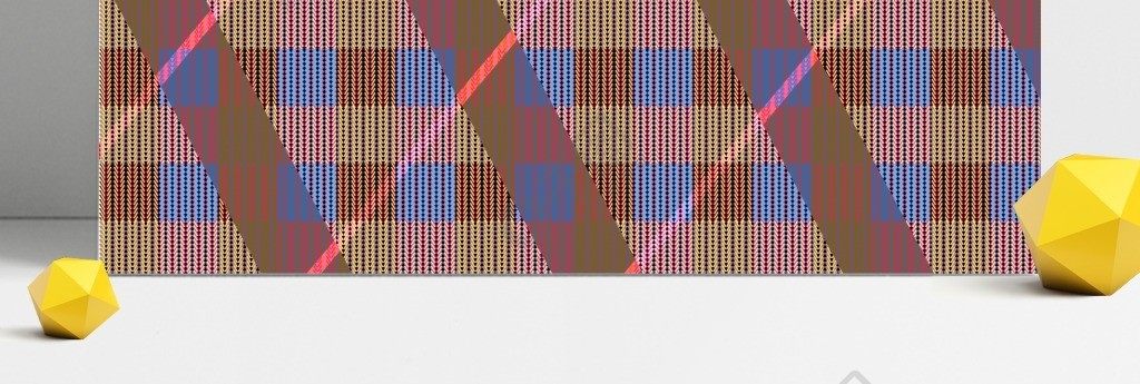 矢量针织图案背景