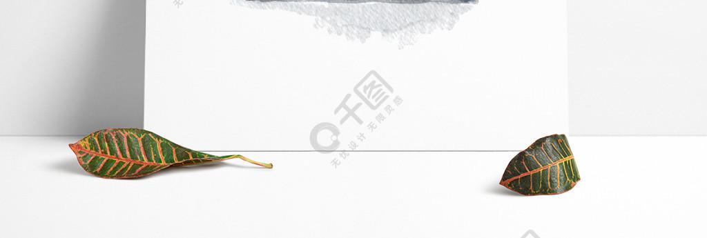 中国风水墨山水矢量设计元素