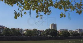 清新城市风景大图 创建文明城市素材