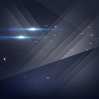 蓝灰色渐变几何家电PSD分层主图背景素材