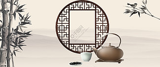 <i>淘</i><i>宝</i>天猫电商古风<i>茶</i><i>具</i><i>茶</i>道海报