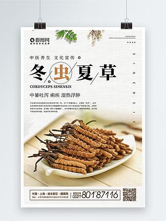 冬虫夏草药品海报