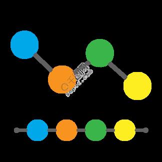圆形节点流程图