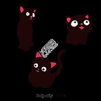 平面可爱?#21482;?#39118;格表情包猫咪元素矢量图