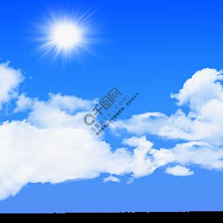 蓝天?#33258;?#22826;阳元素