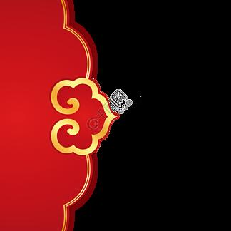 春节中国风如意装饰