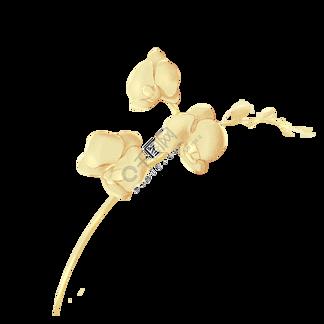 中国传统烫金花纹