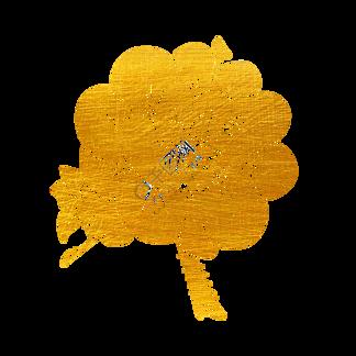烫金梅花花朵花纹