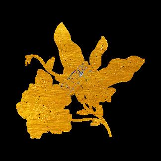 剪纸烫金花草树木组图