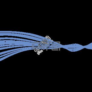 蓝色螺旋缠绕<i>丝</i><i>带</i><i>元</i><i>素</i>