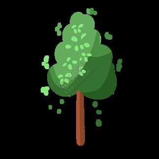 茁壮成长的小树苗
