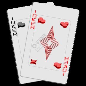 扑克牌大王小王小丑图图片模板免费下载 ai格式 858像素 编号19649243 千图网图片