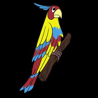 站著樹枝上的啄木鳥插畫