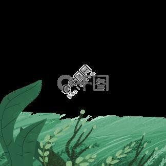绿色的草地免抠图