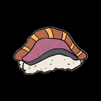 日本寿司食物插图