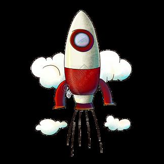 立体火箭航天日插图