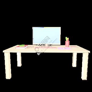 c4d办公桌工作台