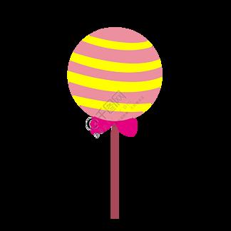 彩色棒棒糖元素