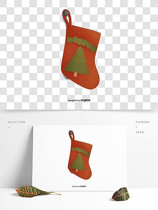圣誕節卡通風格襪子