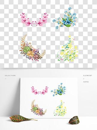 角花 蝴蝶图片