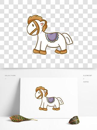 图片免费下载 白马王子卡通素材 白马王子卡通模板 千图网