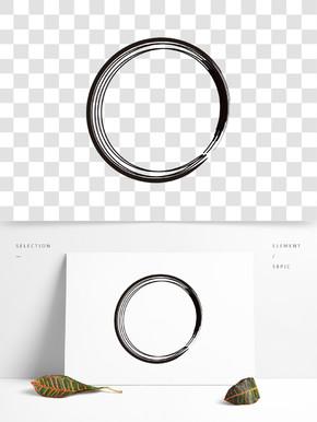 中国风水墨笔刷设计