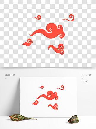 中国风传统祥云免抠图