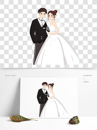 婚纱与礼服新人图片