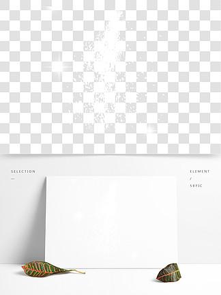白色烟花炫彩炫光
