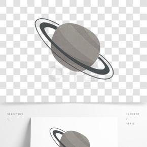 灰色科技圓球星球元素
