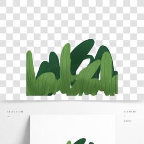 綠色植物葉子元素