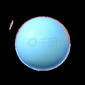几何造型圆球免抠图