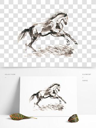 图片免费下载 马的水墨画素材 马的水墨画模板 千图网图片