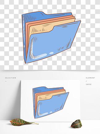 【蓝色文件夹】图片免费下载_素材文件夹软件游戏绘制的蓝色图片