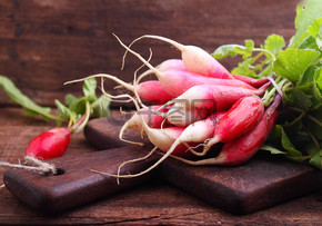 捆红花园萝卜