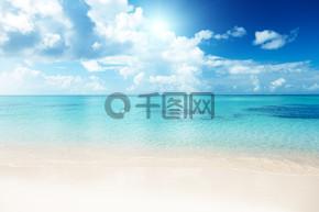 海洋和沙滩