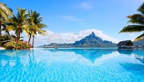 波拉波拉岛景观