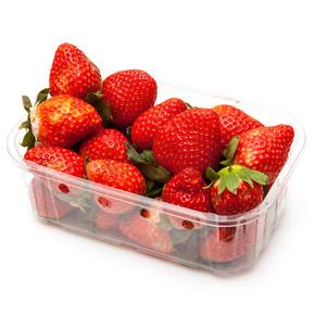 框或篮草莓