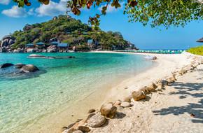 南元涛岛岛岛泰国的视图