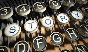 台打字机的故事按钮与复古