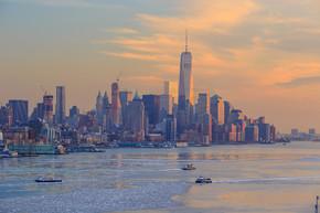 纽约城市天际线