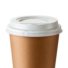 在热杯外卖咖啡
