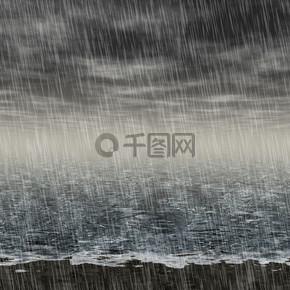 抽象的雨季景观生成员工背景